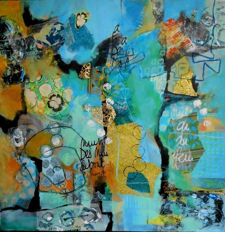 abstrait turquoise 1 (Copier)
