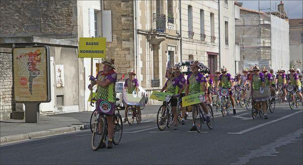 Niort cyclos parade normands panneau Niort 120812