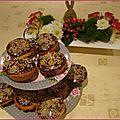 Les cupcakes glaçage chocolat de julie