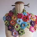 Fleurs au crochet !