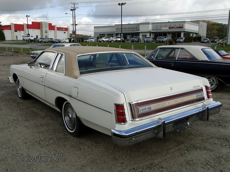 ford ltd coupe 1975 1978 b
