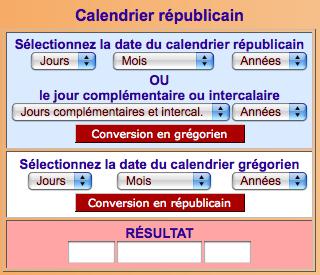 Calendrier Revolutionnaire Conversion.5 Octobre 1793 Instauration Du Calendrier Republicain