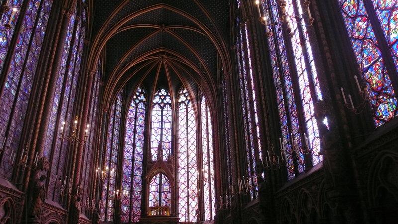 ste chapelle chapelle haute