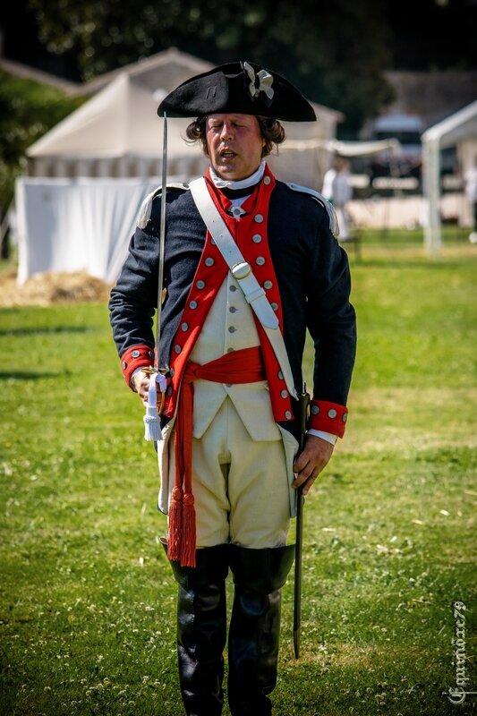 Guerre d'Indépendance Américaine (1775 – 1783) Retour dans le temps du Groupe Lafayette Rochefort 350 ans (23)