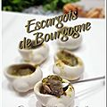 Escargots de bourgogne de mémé (all-clad)
