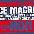 En seine saint-denis pour: la cgt,fo,fsu,solidaire,cfe-cgc,unef, la loi travail xxl c'est toujours non merci!