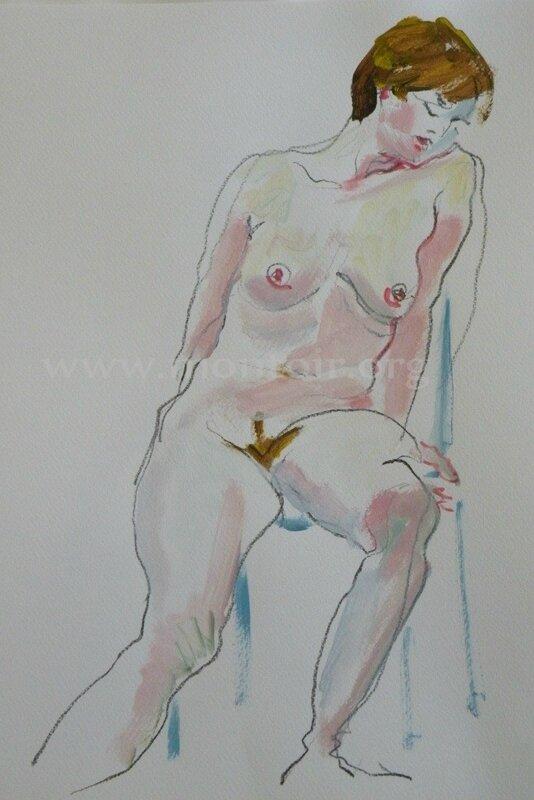 tableaux de nus dessin et peinture www