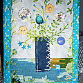 CARTE TEXTILE BOUQUET 13