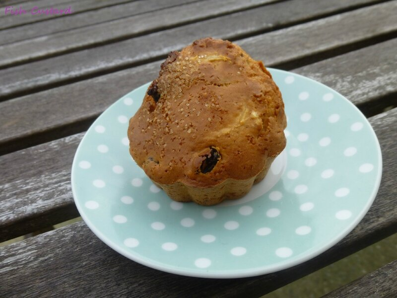 Muffins rhum raisin (12)