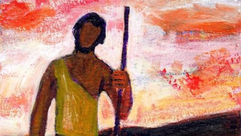 Voix qui crie, évangile-et-peinture