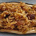 Aubergines farçies au riz a l'orientale