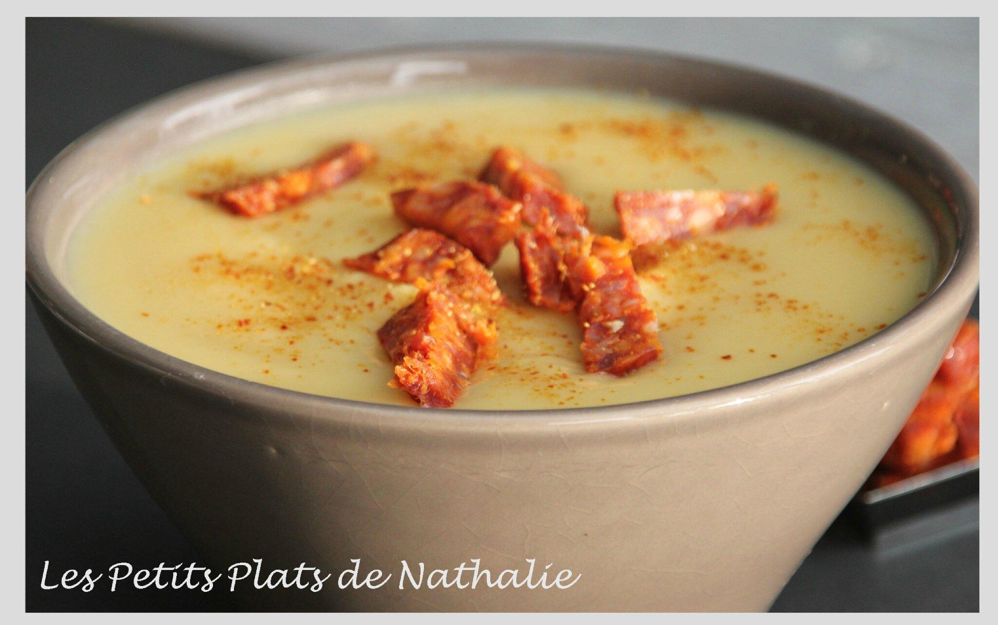 Veloute De Panais Au Chorizo Les Petits Plats De Nathalie