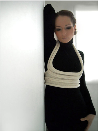 Just for you - Unique,knitted feminine accessory,2012 spring fashion trend, Paris