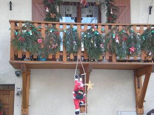 Decoration Balcon De Noel.Deco Exterieur De Noel Tout Doux Fouesine
