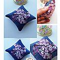 Tutoriel: crée ton pique aiguille origami