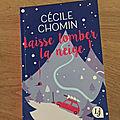 J'ai lu laisse tomber la neige de cécile chomin (editions lj)