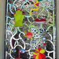 Niki de saint phalle = la grotte du grand jardin de hanovre