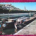 Lyon - quais de Saone datée 1969