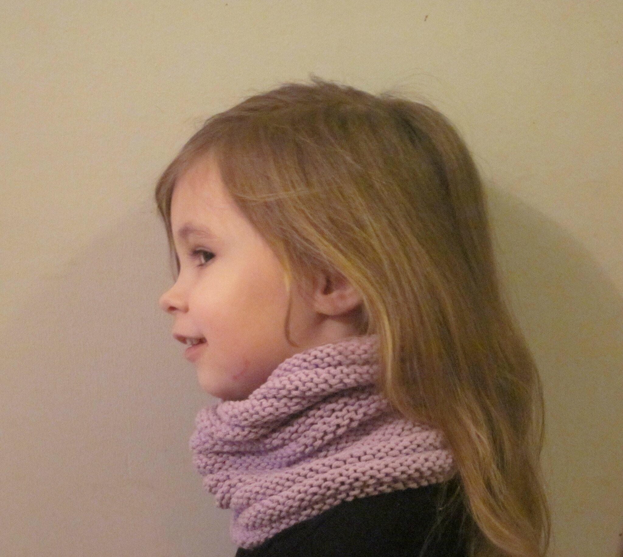 tuto tour de cou enfant je tricote quand j ai le temps. Black Bedroom Furniture Sets. Home Design Ideas