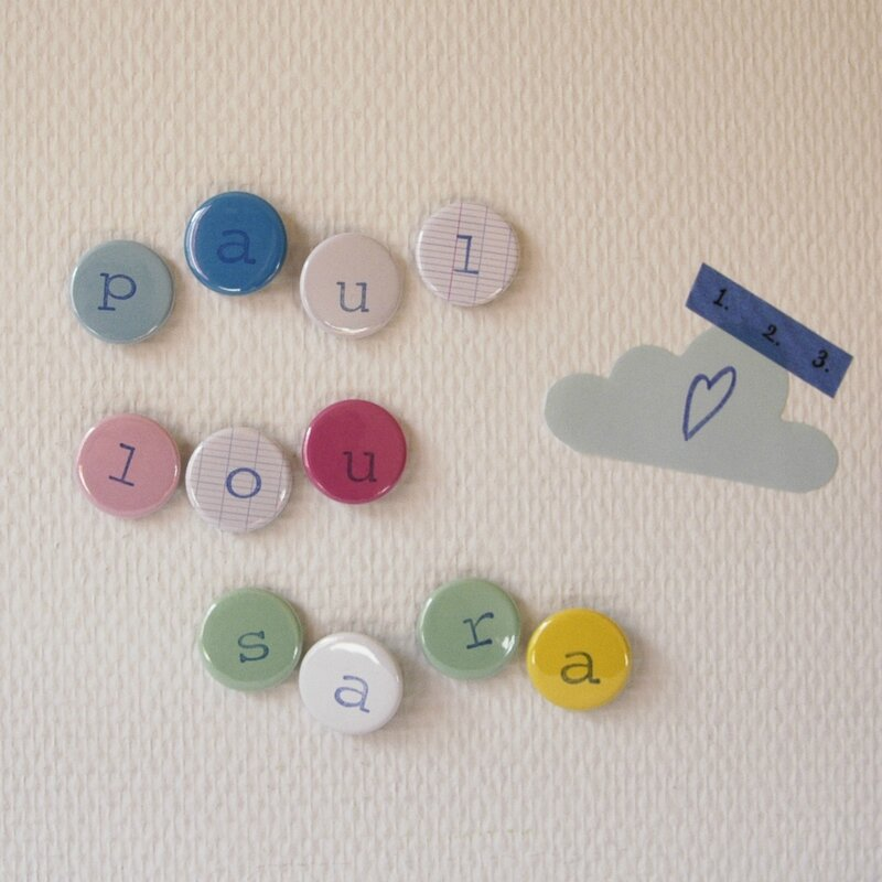 Brodi Broda-magnets lettres aimant alphabet