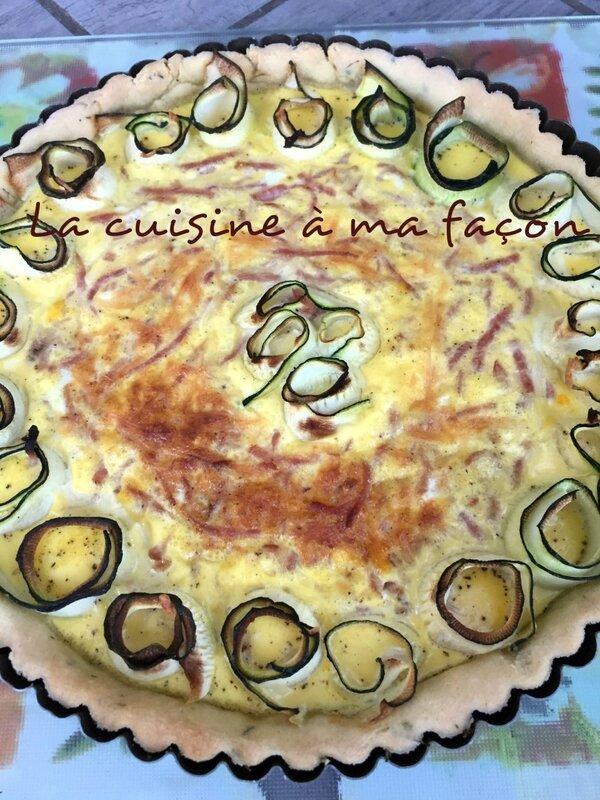 tarte courgette 3