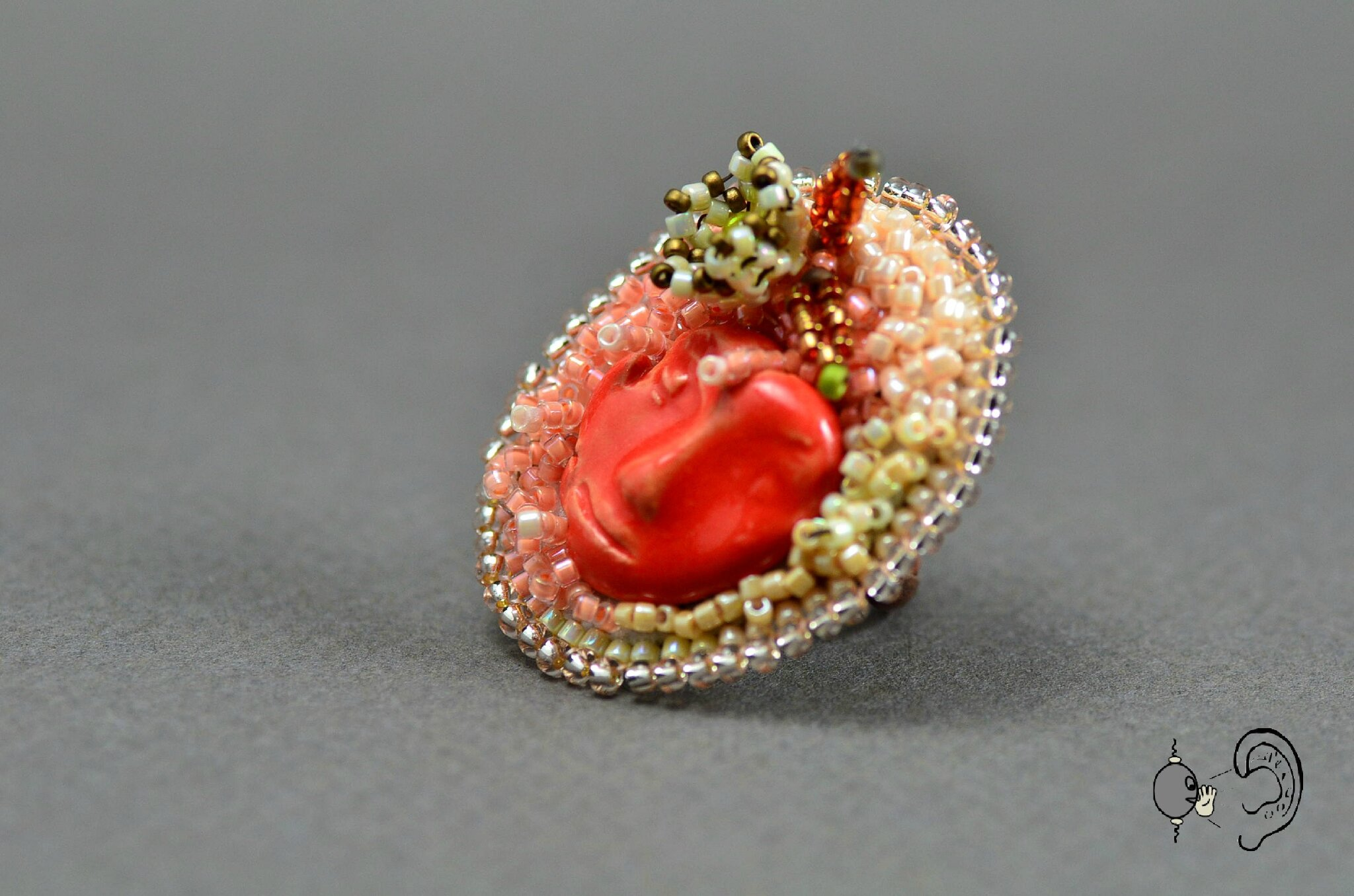 bague lady rose
