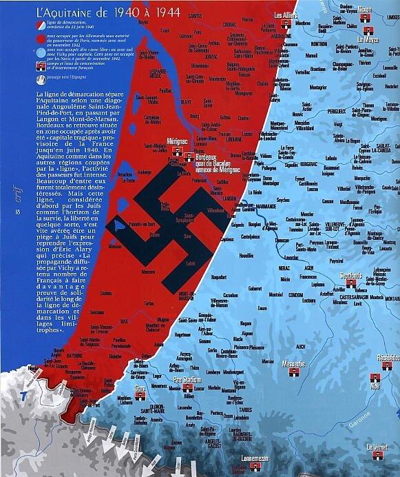 L'Aquitaine de 1940 à 1944
