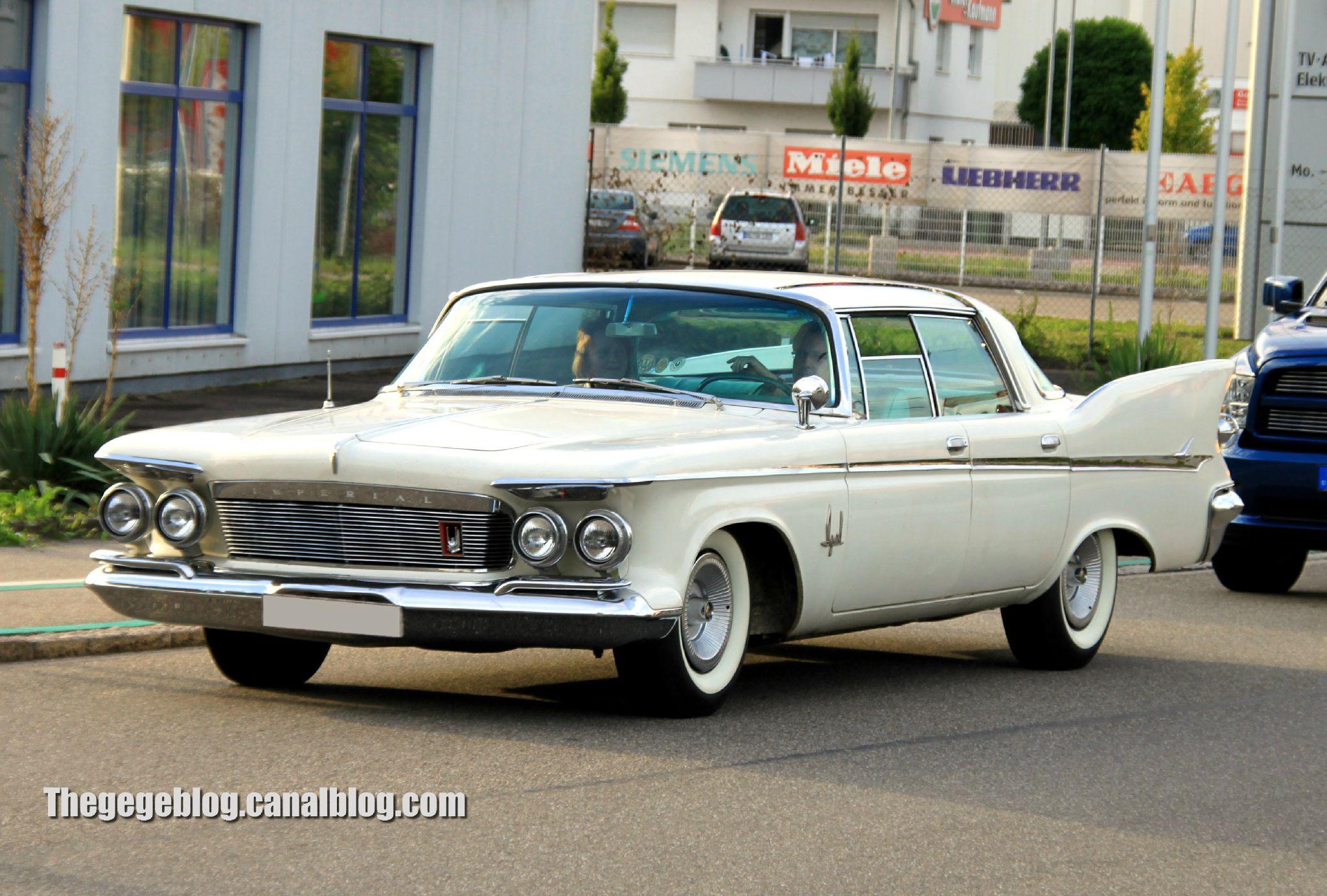 Imperial crown de 1961 (Rencard Burger King aout 2012) 01