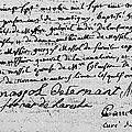 Lenferna Georges Odon_Naissance octobre 1738