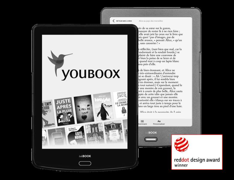 Youboox : des offres d'abonnement avec des liseuses InkBook