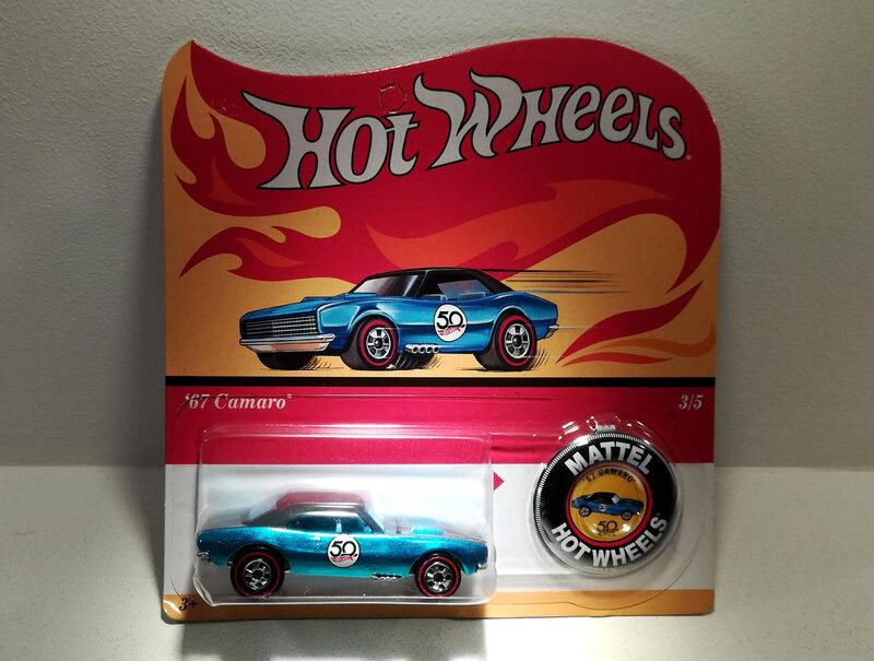 Chevrolet Camaro de 1967 (Hotwheels) (2)