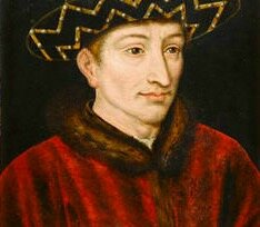 Charles VII roi jeune