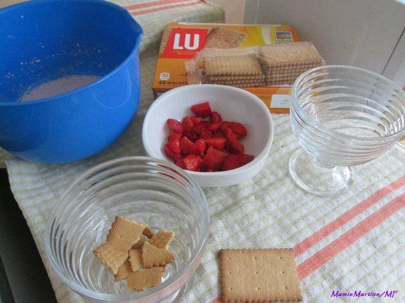 Mousse de fraises8