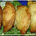 Chaussons épinards thon