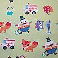 Tissu enfant et dessins