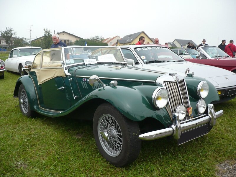 MG TF 1250 roadster 1954 Hambach (1)