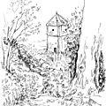 Ballade en solitaire à la tour canoz