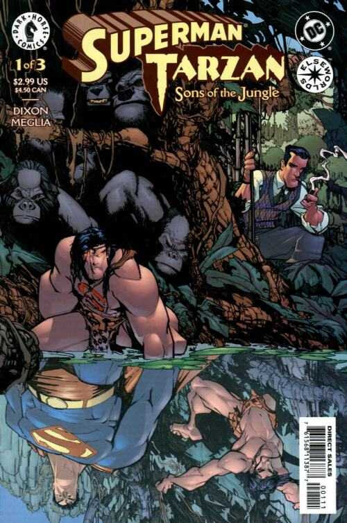 elseworlds superman tarzan sons of the jungle 01