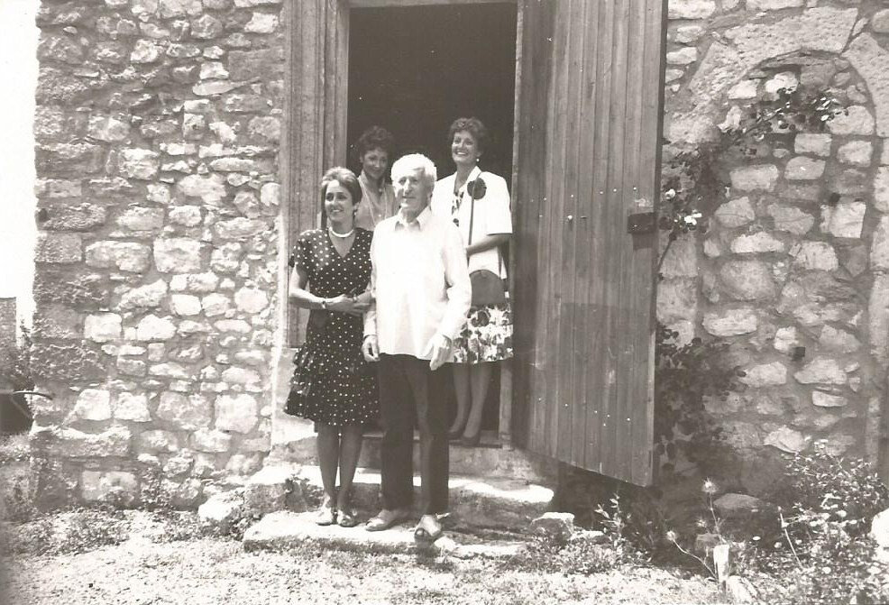 Joan Baez à Montjustin par Paul Geniet.