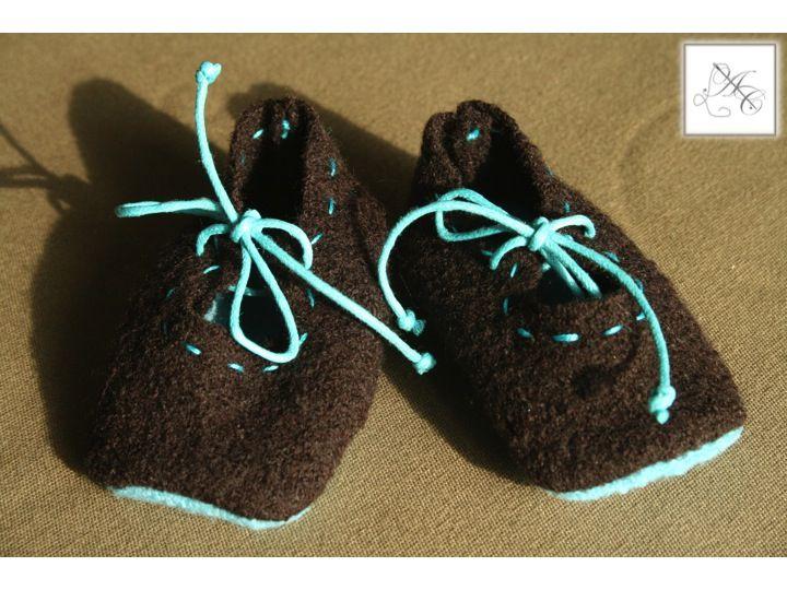 Babies turquoise (lacet)