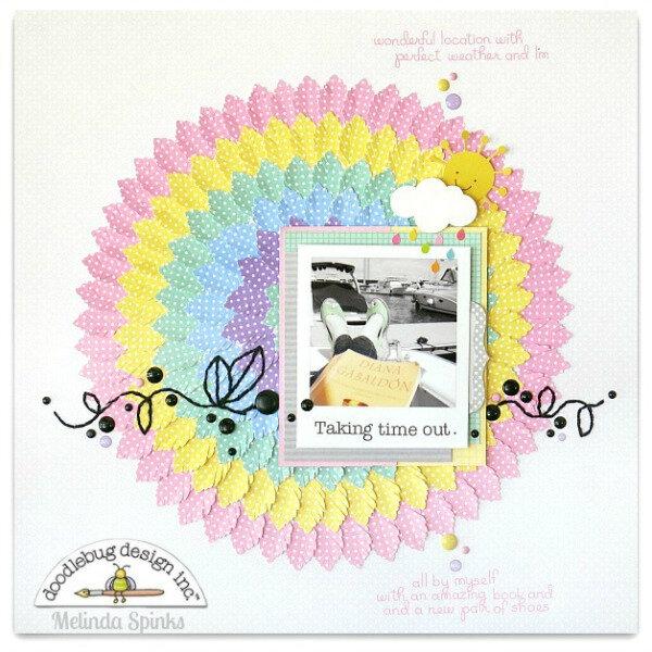 Doodlebug - Melinda Spinks - Petite Prints - Layout