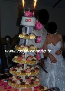 Pièce-montée cupcakes Vos Gourmandiz