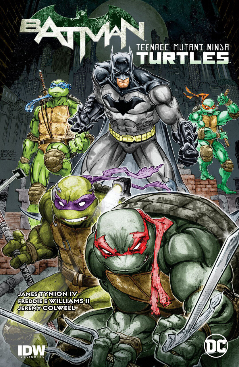 DC / IDW Batman / Teenage Mutant Ninja Turtles