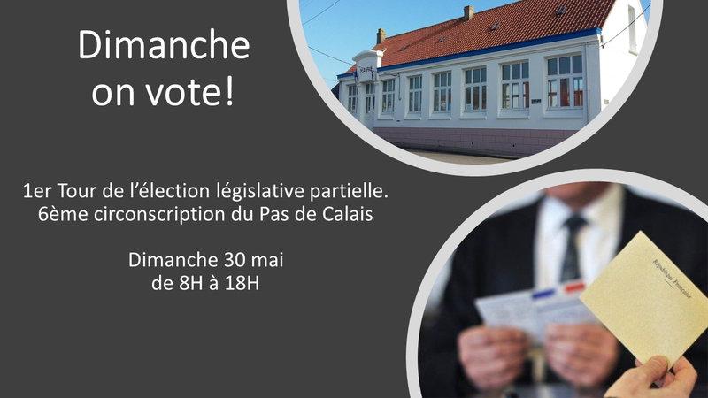 Dimanche on vote