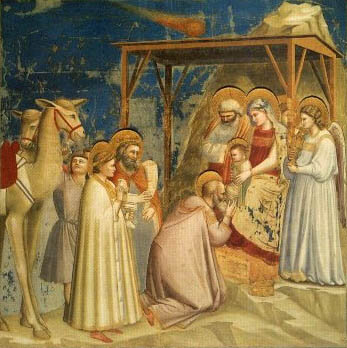 Adoration des mages Giotto
