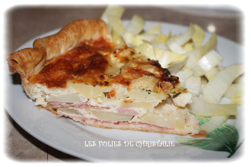 Quiche bacon féta pdt 7