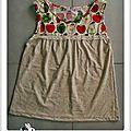 Blouse pomme-poire