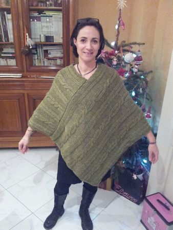 IsaC pour Cathy poncho