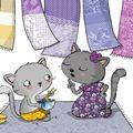 Un petit chat gris...