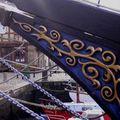 St goustan pres d'auray et ses bateaux
